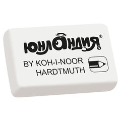 Ластик ЮНЛАНДИЯ (KOH-I-NOOR EXCLUSIVE) 300/<wbr/>80, 26×18,5×8 мм, белый,228697